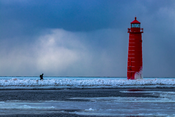 Slow Walk to the Grand Haven Lighthouse and Pier