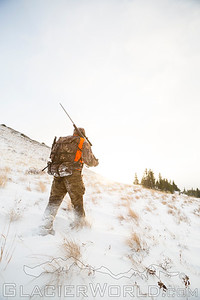 Man hunting in Montana