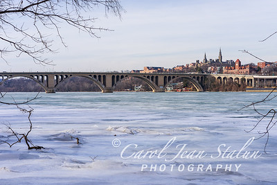 Polar Vortex at Key Bridge