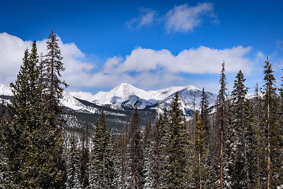 Mount Aetna and Taylor Mountain on Monarch Pass