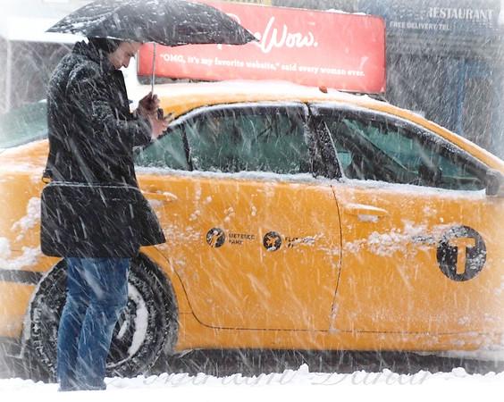 The Last Cab - Winter in New York