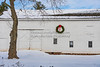 White Barn w wreath,NJ_12-18-20_9679©DonnaLovelyPhotos com -