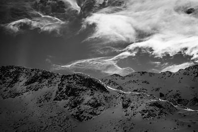 Light and Clouds | Ten Mile Range, Colorado