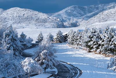 Frosty Fall Trailmark Morning