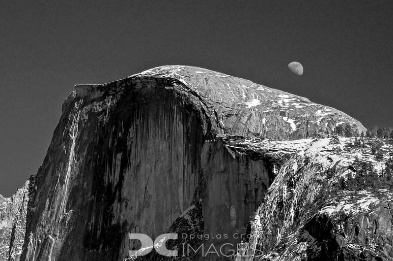 Half Dome/Half Moon