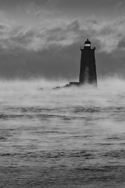 Whaleback Sea Smoke vertical