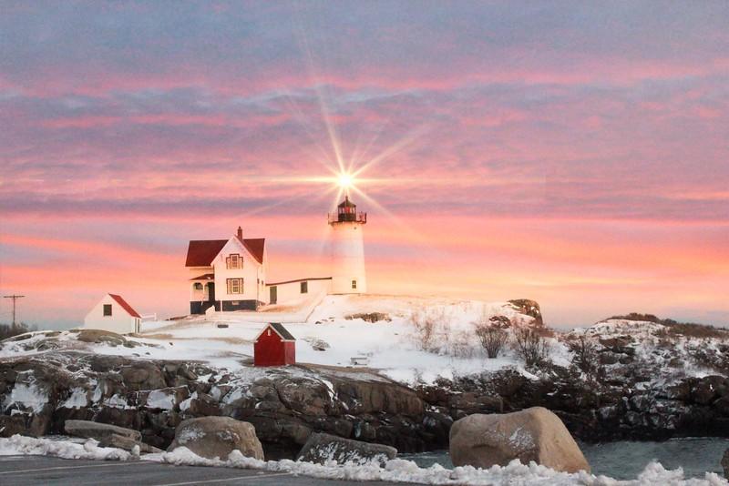 Cape Neddick ~ Nubble Light House