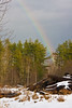 Vermont Rainbow in Winter