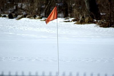 18th green at the Frostbite Classic