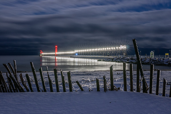 Grand Haven After the Ice Storm
