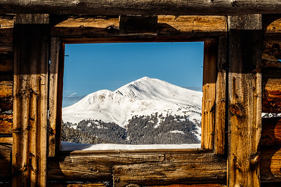 Framing Jacque's Peak | Ten Mile Range, Colorado