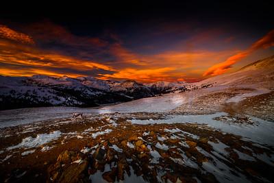 Sunset Colors | Loveland Pass, Colorado