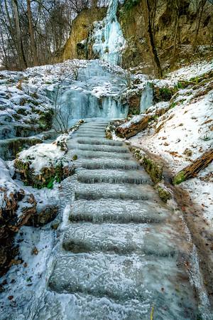 Waterfall Bad Urach