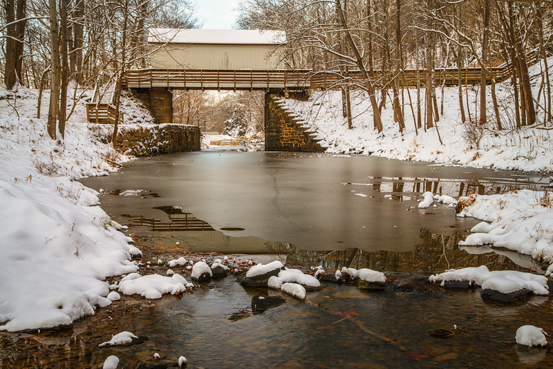 C&O Canal in Winter