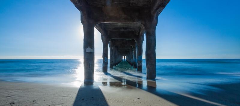 Under the Pier Blue