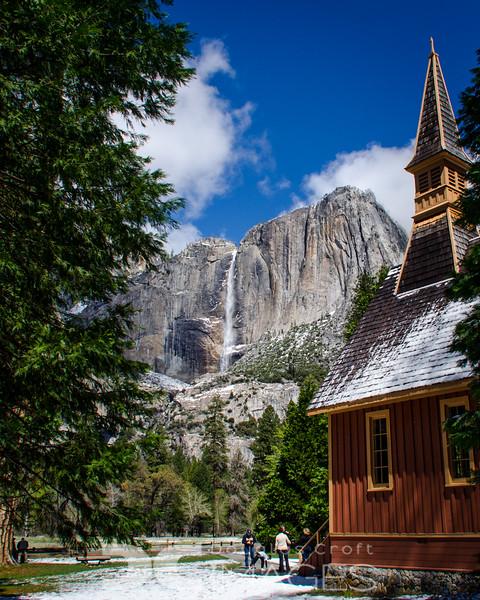 Yosemite Falls - Chapel View