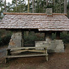 """This first group of pictures from Dec 24th are in 4100 acre Deception Pass State Park...<br /> <br /> This cooking structure was originally built by what was called the """"Civilian Conservation Corps""""... during WWII.. <a href=""""http://en.wikipedia.org/wiki/Civilian_Conservation_Corps"""">http://en.wikipedia.org/wiki/Civilian_Conservation_Corps</a> <br /> <br /> There are many structures like this and larger in this park and they are just now beginning to restore the wood on them...the stone work and beams are original..."""