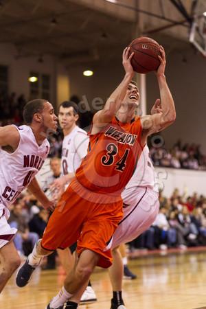 Wheaton College Men's Basketball at North Central