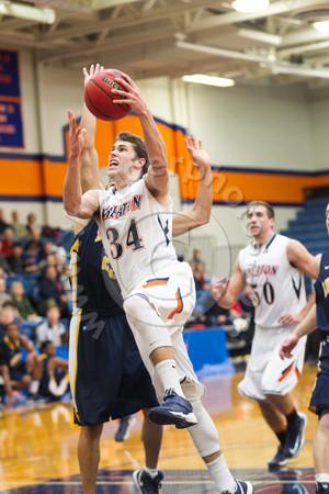 Wheaton College Men's Basketball vs Augustana (58-57)