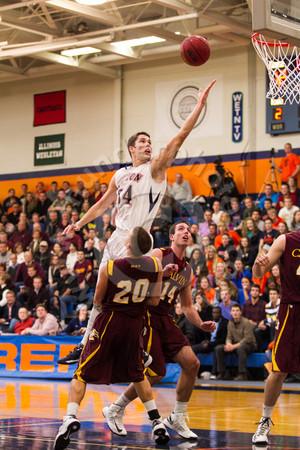 Wheaton College Men's Basketball vs Calvin (54-37), CCIW/ MIAA Classic, November 30, 2012