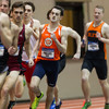 Wheaton College Indoor Track/ Men's Distance Relay Team (5th place) at National Indoor Finals, North Central College