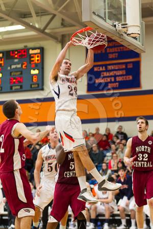 Wheaton College Men's Basketball vs North Central College, January 25, 2014