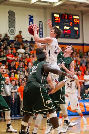 Wheaton College Men's Basketball vs Illinois Wesleyan, February 22, 2014