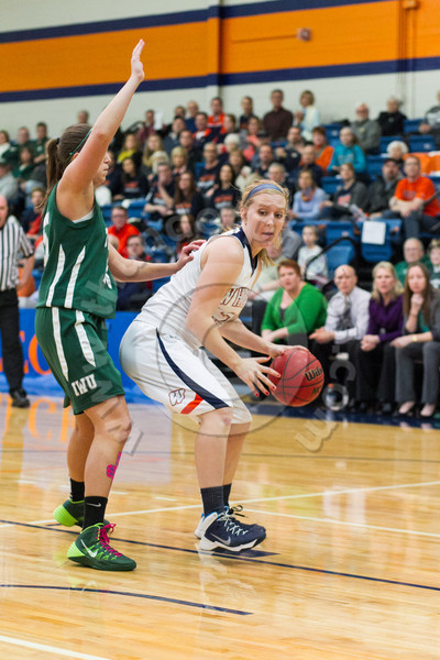 Wheaton College Women's Basketball vs Illinois Wesleyan, February 22, 2014