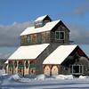 Barn, Lamoine, Maine.