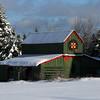 Barn in Lamoine, Maine.
