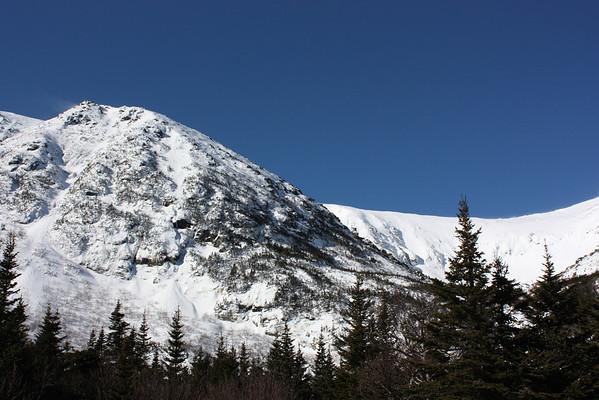 02/09/2012 Hiking and skiing on Mt. Washington