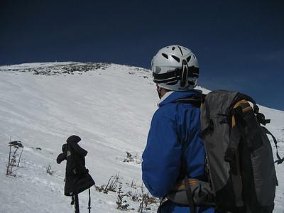 Intermediate/Advanced Backcountry Skiing PE Course Ad. Photos