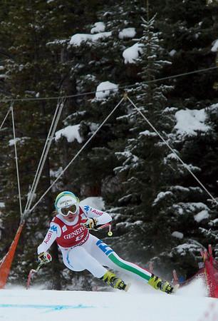 Lake Louise World Cip Women's Downhill #2 Dec 1/12