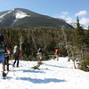 Skiing to Chimney Pond