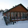 Our posh hut