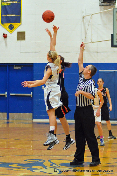 Jonesville vs Hillsdale Girls Basketball