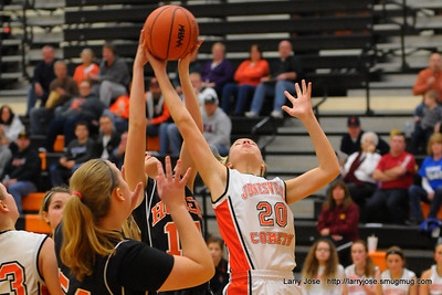 Jonesville vs Homer (JV) Girls Basketball
