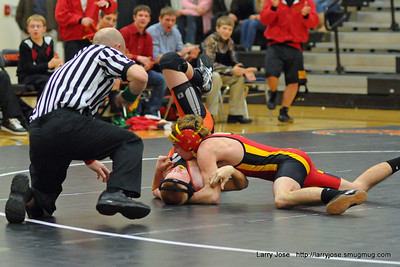 Jonesville vs Reading Wrestling Dual