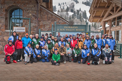 Olympic Volunteer Group Shot