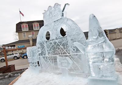 Winterfest Ice Carving Entry - Spongebob Squarepants (Sy Stepanov)