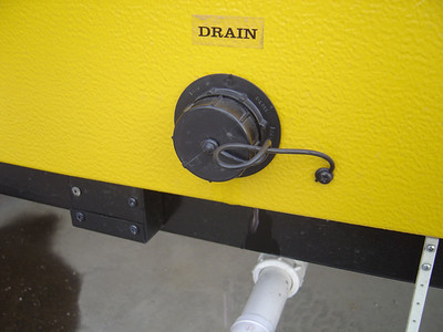 If needed you can slightly open the drain caps and ensure anti-freeze is in the drain lines.