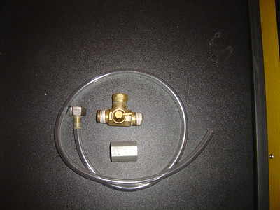 Another way to get Anti-freeze into the water lines is to install a permanent winterizing connection kit.