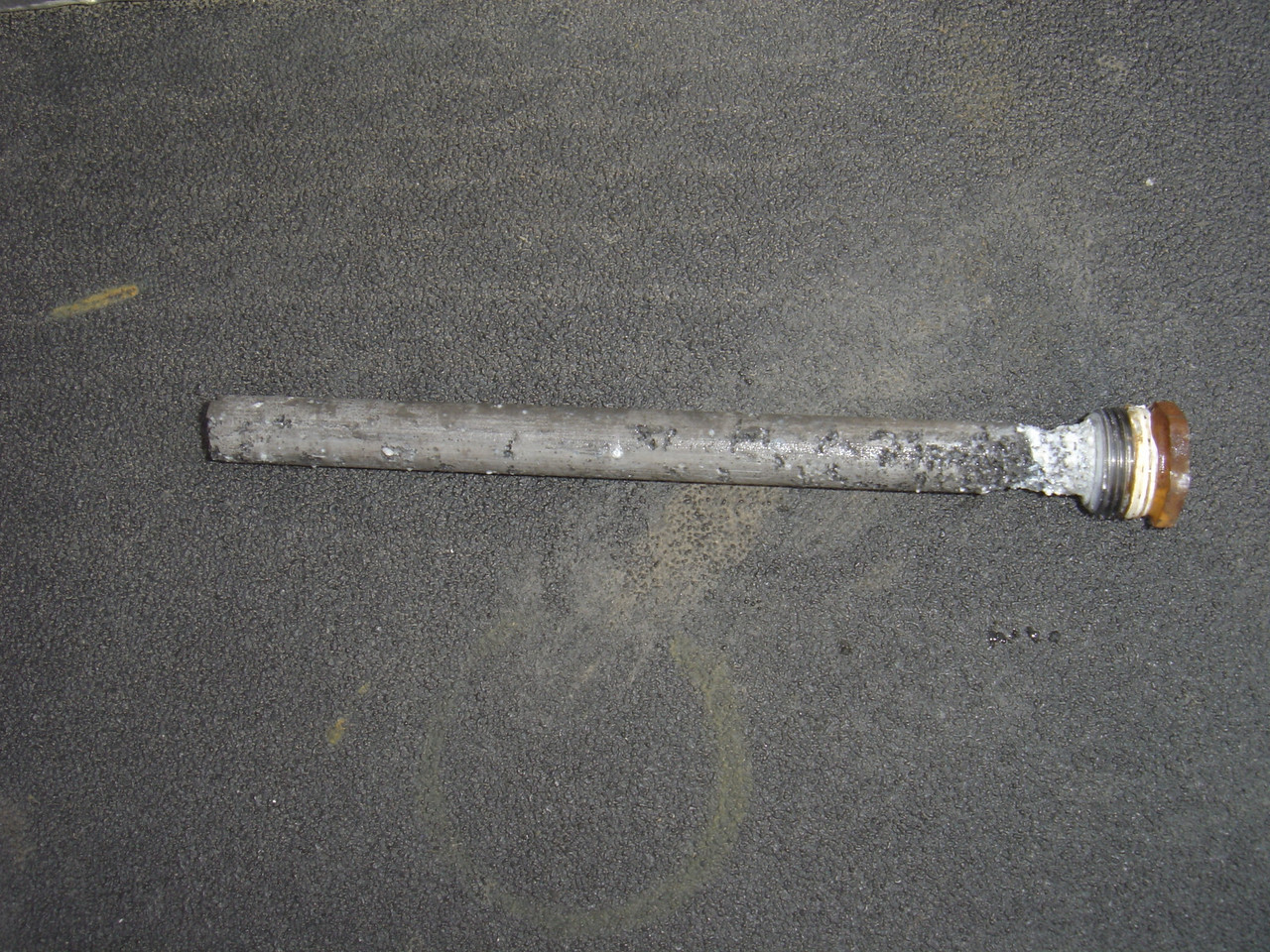 While not part of winterizing it is a good time to inspect the sacrificial anode and order a replacement if needed.