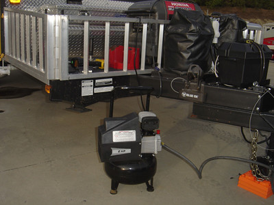 To ensure that all the lines are free of water you can use an air compressor to blow out the water lines.