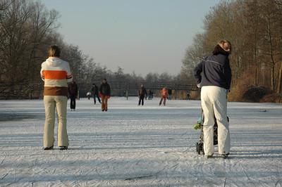 Schaatsen januari 2009