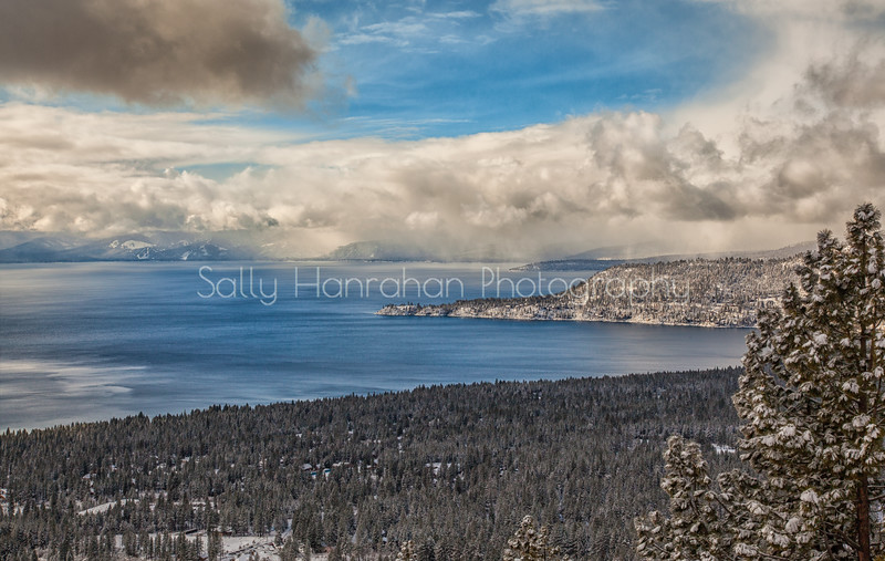 Lake Tahoe Winter Storm