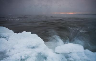Steamy sea