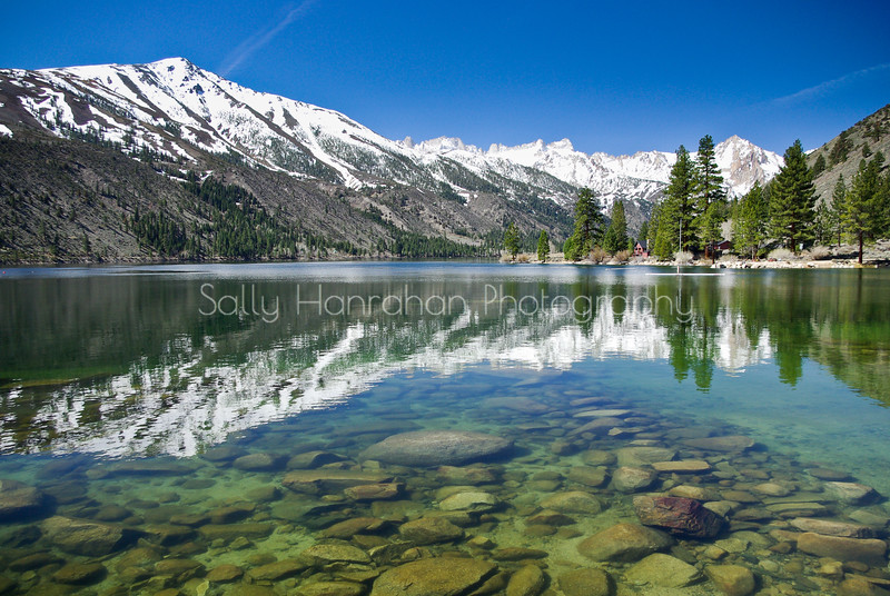 Sierra Reflection~Lower Twin Lake, California