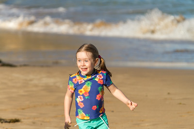 Scarlett at Smelly Beach - Rosedale Easter 2017 (5 years old)