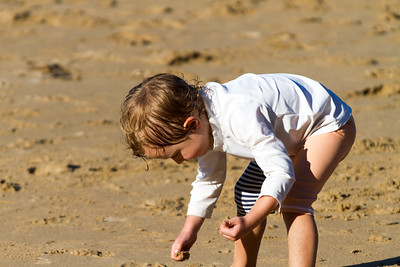 Sebastian Playing at Smelly Beach - Rosedale Easter 2017
